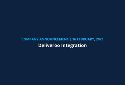 company announcement deliveroo