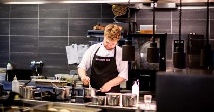pexels rene asmussen chef in commercial kitchen