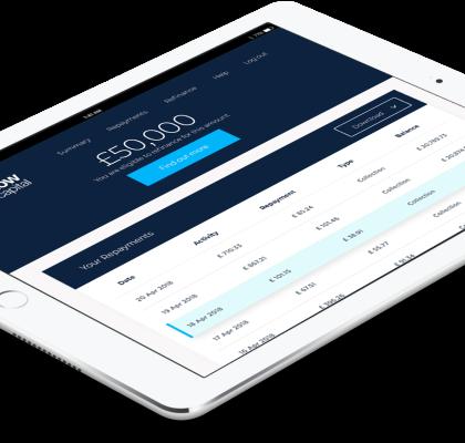 Epos Now Capital on iPad