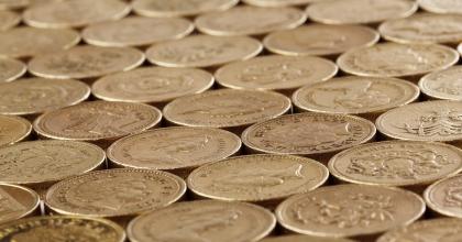 gold round coins 41183